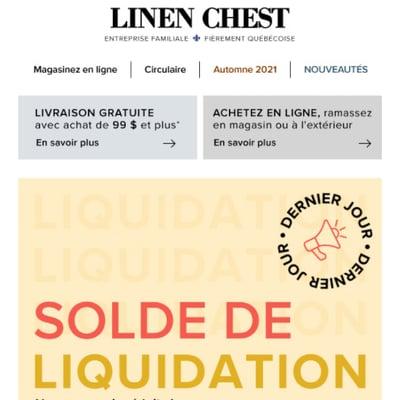 Image de la Promotion Dites au Revoir au Soleil... Et B-O-N-J-O-U-R au Solde de Liquidation Estivale!!!