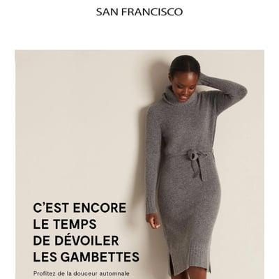 Image de la Promotion Coup de Coeur pour les Robes Pull...