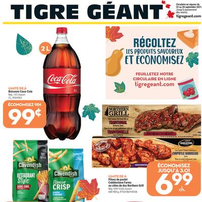 Image de la Promotion Circulaire Tigre Géant du 22 au 28 Septembre 2021