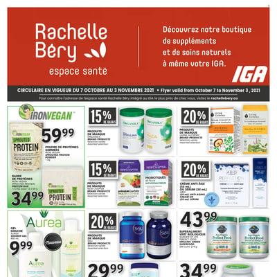 Image de la Promotion Circulaire Rachelle-Béry - Espace Santé du 7 Octobre au 3 Novembre 2021