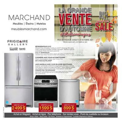 Image de la Promotion Circulaire Meubles Marchand du 4 au 31 Octobre 2021
